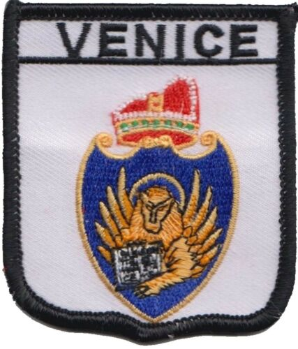 Italy Venice City Coat Of Arms Shield Embroidered Patch