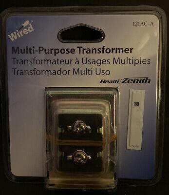 Heath Zenith Wired Multi Purpose Transformer 121ac-a Desa Specialty New