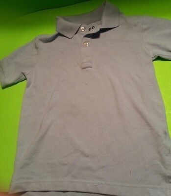 IZOD Boys Short-Sleeve Polo School Uniform Shirt Solid Light Blue Size 8