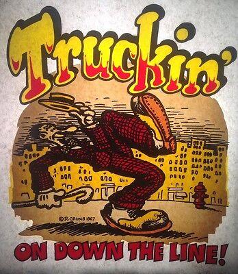 футболки Vintage 1967 Truckin' On Down