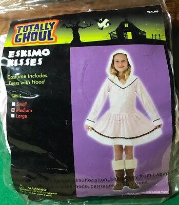 Totally Ghoul Eskimo Kisses Halloween Dress Up Costume Girls Medium - Girl Kiss Halloween Costumes