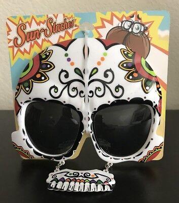 r Skull Día de los Muertos Glasses  (Sugar Skull Brille)