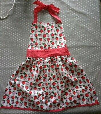 NEW Ulster Weavers Horrockses 'Brigette' Strawberry Vintage Style Apron
