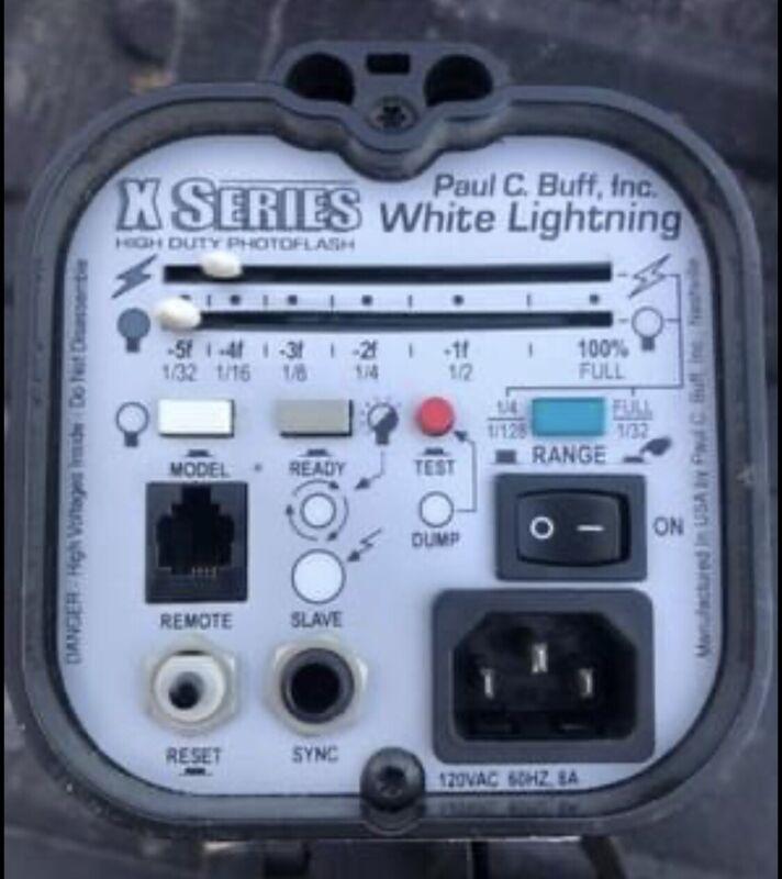 Paul C. Buff White Lightning X1600 Monolight Studio Flash Unit WLX1600-120V