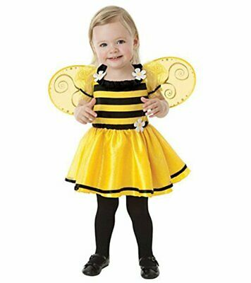 amscan Baby Little Stinger Bee Costume - 6-12 Months, Yellow/Black](Bee Stinger Costume)