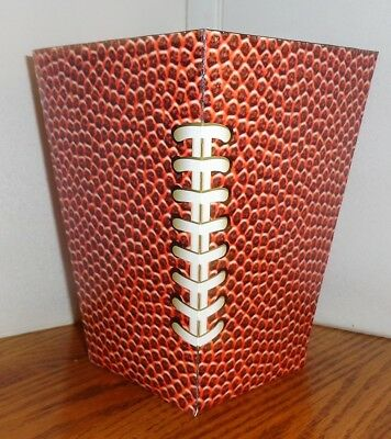 Football Popcorn Box. Free Shipping