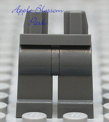 NEW Lego Star Wars Minifig Plain DARK GRAY LEGS -Boy/Girl Minifigure Blank Lower