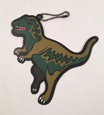 Coach Rexy T Rex Bag Charm Key Chain Hang Tag Green Dinosaur Gift Tag  ()