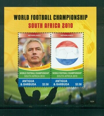 Antigua #3112 (2010 World Cup sheet)  VFMNH  CV $5.50