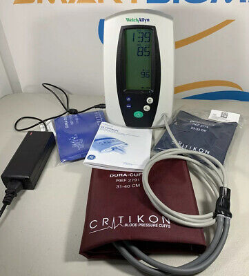 Welch Allyn 420 Series Spot Vital Signs Monitor Nibp Blood Pressure Only-tested