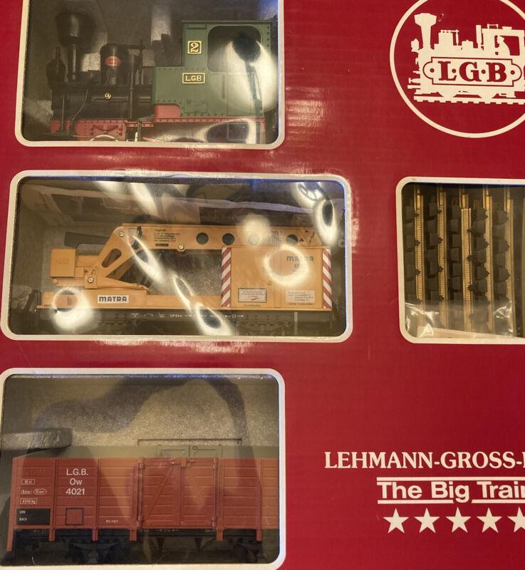 LGB 20501 Steam Freight Train Set, RARE Collection Item