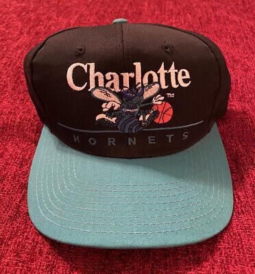 Vintage Authentic Charlotte Hornets Hat