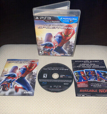 PS3 The Amazing Spider-Man - COMPLETE WITH INSERT! Clean Disc | Free Shipping