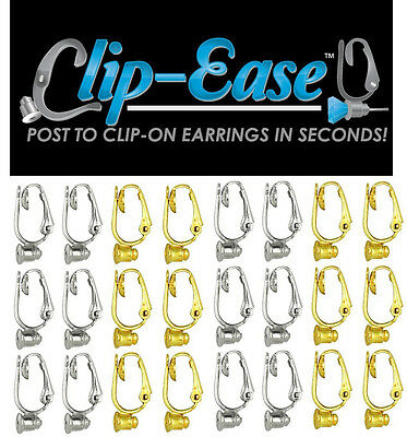 Clip-On Earring Converter. Turn Any Post Earrings Into Clip-On Earrings! 4 PAIR
