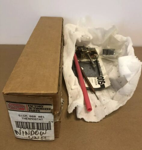 CARRIER FURNACE AIR CONDITIONER THERMOSTAT 51CM660001