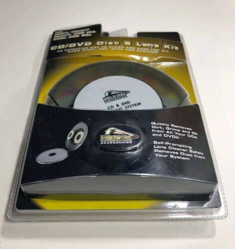 NEW Pelican Accessories CD DVD Cleaning System Works W PS4 Xbox One Games - $8.10