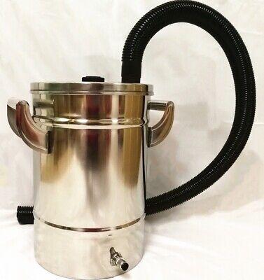 Ss304 Powder Hopper For Electrostatic Powder Coating Machine Spray Gun