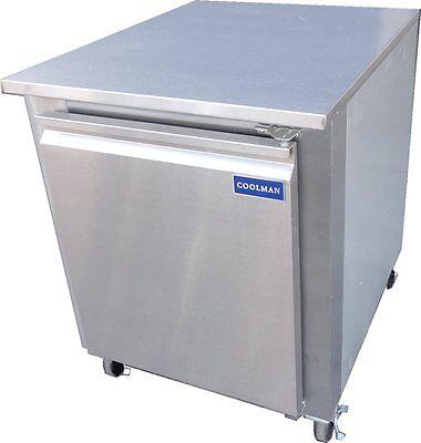 Coolman Commercial 1-door Low Boy Worktop Refrigerator 27