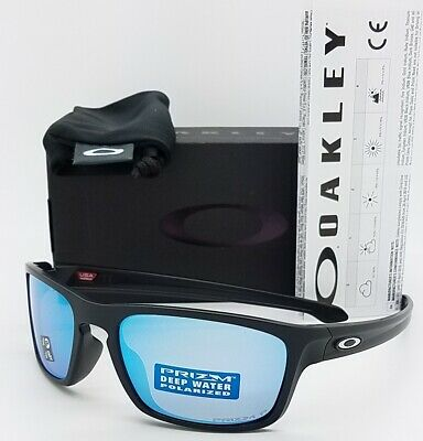 NEW Oakley Sliver Stealth sunglasses Prizm Deep H2O Polarized AUTHENTIC 9408-07 (Stealth Sunglasses)