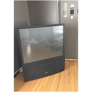 """RCA 52"""" Rear projection TV"""