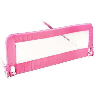 NEW! 150cm Pink Baby Child Toddler Bed Rail Safety Protection Guard