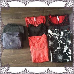 Lot de vêtements pour dame