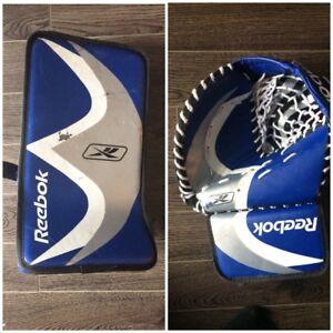 Gants de gardien de but d'hockey
