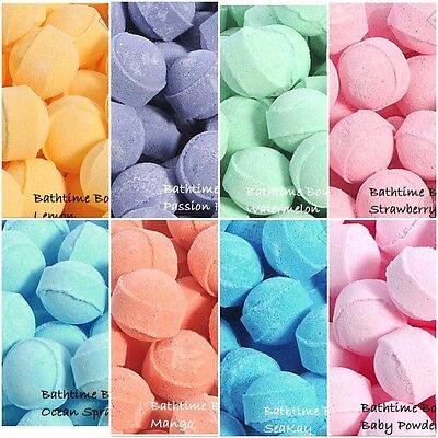 50 x Assorted Chill Pill / Mini Marble Bath Bombs - Wedding Favour, gifts