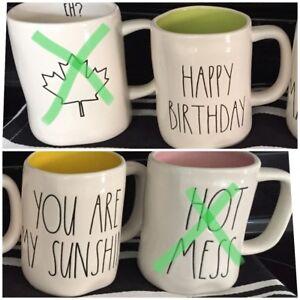 RAE DUNN Mugs for Trade