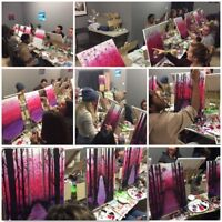 Cannabis-friendly Dab, Dine & Paint Valentine's Day Party!