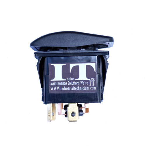 IndusTec DC Motor Polarity - Reversing Rocker Momentary switch control DPDT 12v