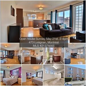 Open house TODAY: 2 bdr, 1 garage condo - Sud Ouest