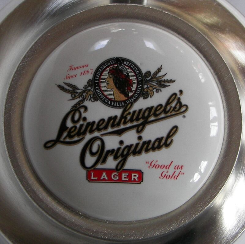 Leinenkugel Original 1998 Wisconsin 150th Milwaukee Brewers hofbrau beer stein