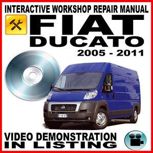 fiat ducato workshop service repair manual. Black Bedroom Furniture Sets. Home Design Ideas