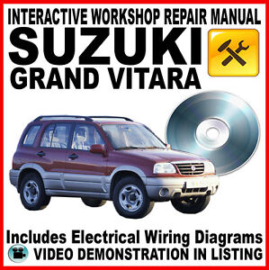 SUZUKI GRAND VITARA - XL7: Workshop Repair Service Manual - Interactive DVD XL-7