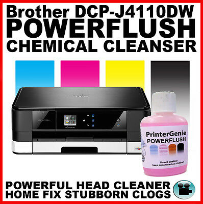 Head Cleaning Kit; fits Brother DCP-J4110DW - Nozzle Flush Printhead Unblocker