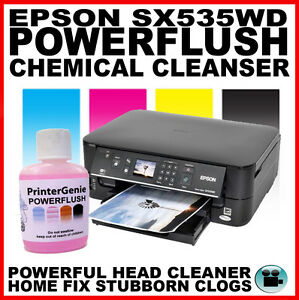 Epson Stylus SX535WD - Head Cleaner - Nozzle Cleanser ...