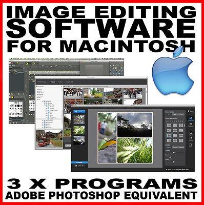 Image Editing Software: Photoshop CS2 equivalent MAC- Macbook Pro iMac OSX Apple