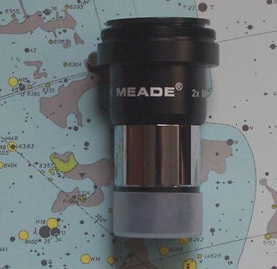 Линзы для телескопов NEW Meade 2x