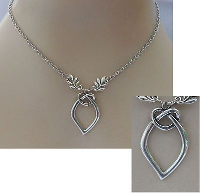 Silver Celtic Knot Pendant Necklace Jewelry Handmade NEW Fashion Adjustable