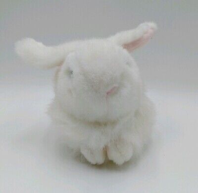 Ty Nibbles Beanie Buddies Plush White Bunny Rabbit 1993 8 Inches