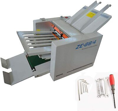 Adjustable Auto Paper Folding Machine Folder Paper Plate 110v Variable Speed Us