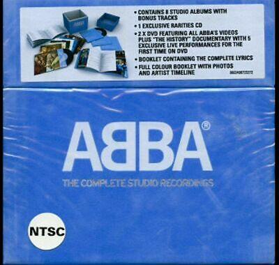 BRAND NEW SEALED ABBA complete studio recordings BOX SET Blue Velvet Deleted
