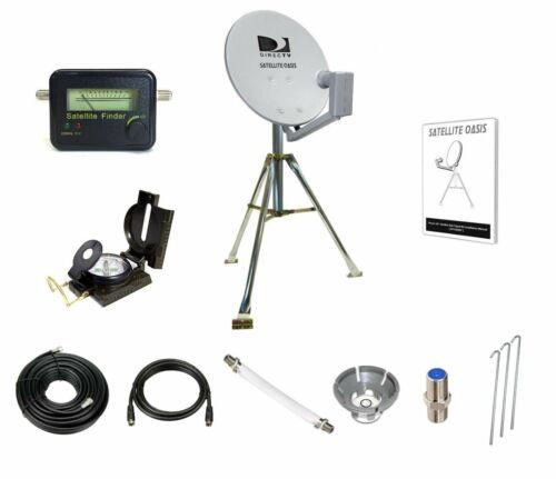 DIRECTV Satellite Dish Tripod Kit  for RV Tailgating