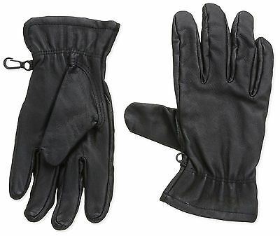 New Marmot Basic Work Mens Glove Driclime 1677 Color Black Size Small