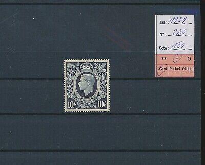 LM41954 Great Britain 1939 George VI fine lot MH cv 150 EUR