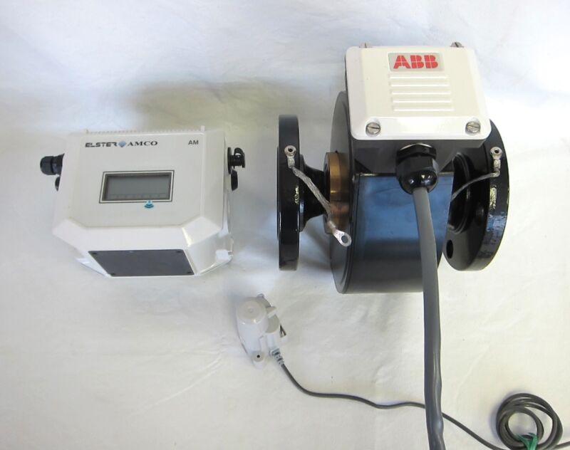 ABB Elster Amco Aquamaster Flowmeter W/ Case