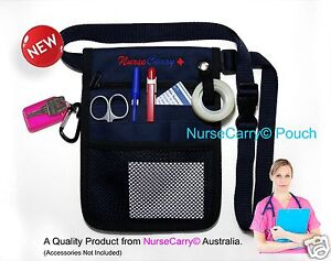 NURSE Carry® POCKET Waist POUCH ~ QUICK PICK Nurses Bag +FREE keyring +FREE Post