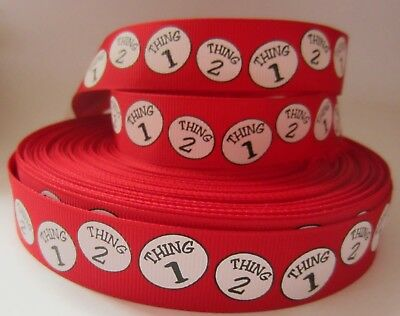 GROSGRAIN DR. SEUSS THING 1 THING 2 1