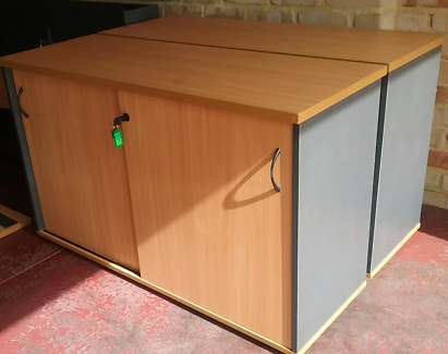 Office Credenza Perth : Office furniture credenza cupboard cabinets gumtree